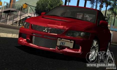 ENBSeries RCM para el PC débil para GTA San Andreas tercera pantalla