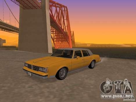 Oldsmobile Cutlass v2 1985 para GTA San Andreas
