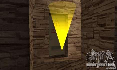 La nueva presa para GTA San Andreas novena de pantalla
