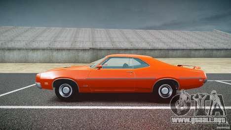 Mercury Cyclone Spoiler 1970 para GTA 4 vista interior