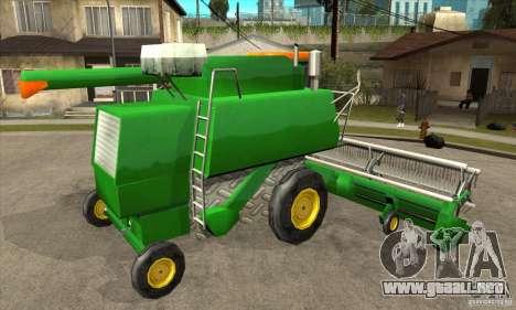 Combine Harvester Retextured para la visión correcta GTA San Andreas