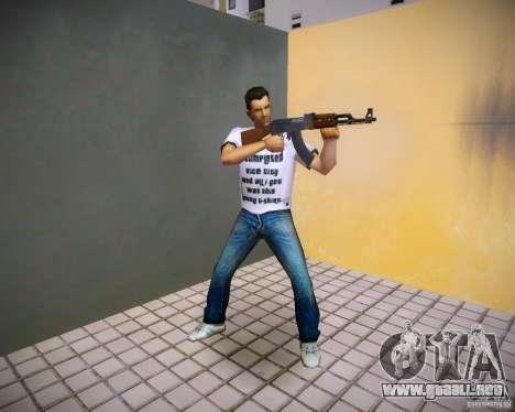 Pak armas de GTA4 para GTA Vice City quinta pantalla