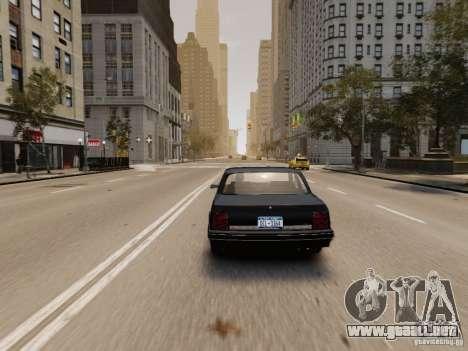 Oldsmobile Cutlass Ciera 1993 para GTA 4 vista hacia atrás