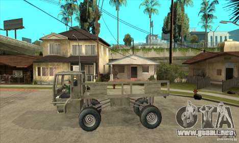 Fast Five Sand King para GTA San Andreas left