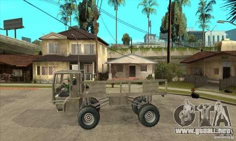 Fast Five Sand King para GTA San Andreas left