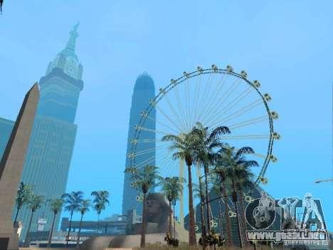 New Dubai mod para GTA San Andreas quinta pantalla