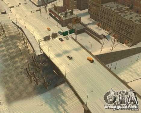 Lluvia helada para GTA 4 tercera pantalla