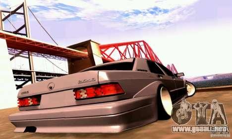 Mercedes-Benz 190E Drift para la visión correcta GTA San Andreas