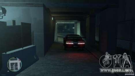 Ford Mustang GTR para GTA 4 Vista posterior izquierda