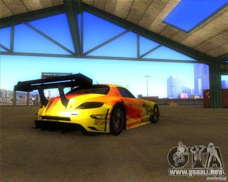 Mercedes SLS AMG - SpeedHunters Edition para GTA San Andreas left