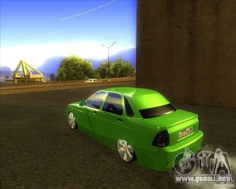 LADA priora coches tuning para GTA San Andreas left