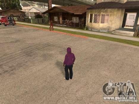 Campana para GTA San Andreas segunda pantalla