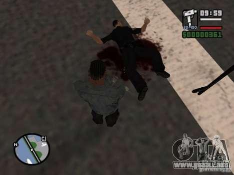 Nuevo patrón de sangre para GTA San Andreas