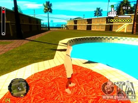 Piel vago v9 para GTA San Andreas quinta pantalla