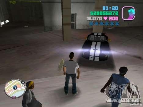 Dodge Viper Hennessy 800 para GTA Vice City left
