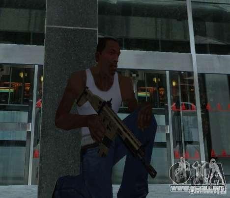FN Scar L para GTA San Andreas segunda pantalla