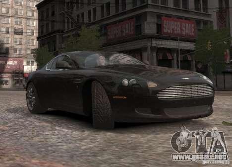 Aston Martin DB9 2008 v 1.0 para GTA 4 vista superior