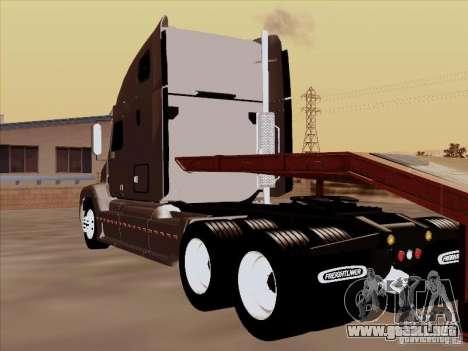 Freightliner Century ST para GTA San Andreas vista hacia atrás