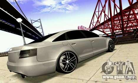 Audi A6 Blackstar para visión interna GTA San Andreas