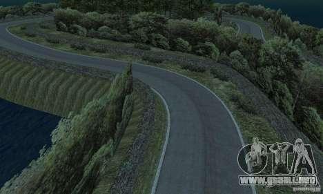La ruta del rally para GTA San Andreas décimo de pantalla
