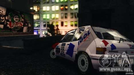 Peugeot 205 Rally para GTA 4 left