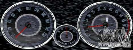 Guión Chevrolet Camaro Spedometr para GTA San Andreas