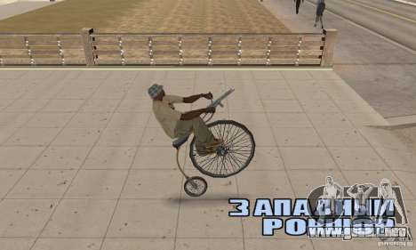 Penny-Farthing Ordinary Bicycle para la visión correcta GTA San Andreas