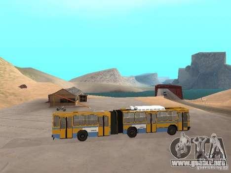 Remolque YUMZ T1 para GTA San Andreas vista posterior izquierda