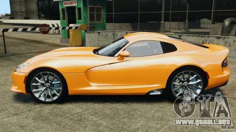 SRT Viper GTS 2013 para GTA 4 left
