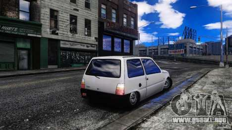 Oka VAZ 1111 para GTA 4 Vista posterior izquierda