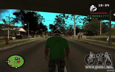 New Grove-Street para GTA San Andreas segunda pantalla