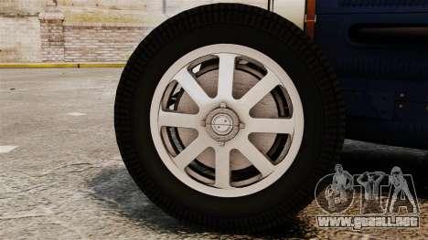 Bugatti Type 51 para GTA 4 visión correcta