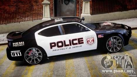 Dodge Charger NYPD Police v1.3 para GTA 4 vista desde abajo