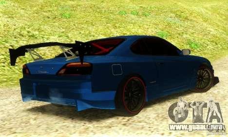 Nissan Silvia S15 Tuned para GTA San Andreas left