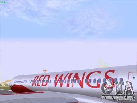 Tupolev Tu-204 Red Wings Airlines para visión interna GTA San Andreas