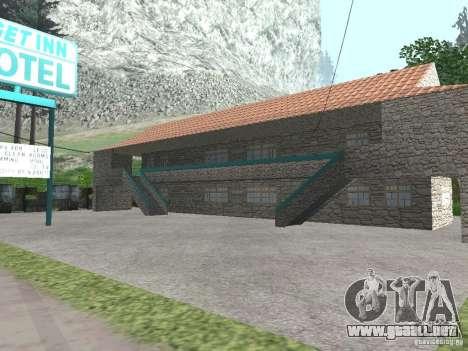 Pueblo de Angel Pine modificado para GTA San Andreas sexta pantalla