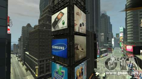 Real Time Square mod para GTA 4 tercera pantalla