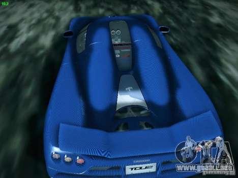 Koenigsegg CCXR Edition para la visión correcta GTA San Andreas