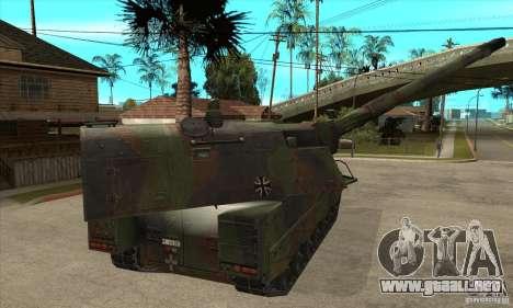 Panzerhaubitze 2000 para la visión correcta GTA San Andreas