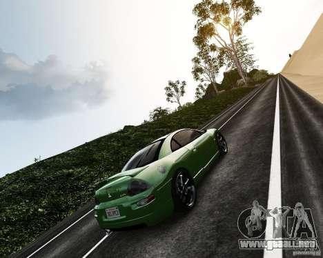 Mitsubishi Eclipse GT-S para GTA 4 vista hacia atrás