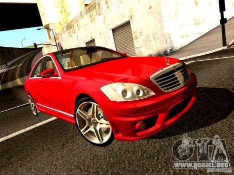 Mercedes-Benz S65 AMG 2007 para la visión correcta GTA San Andreas