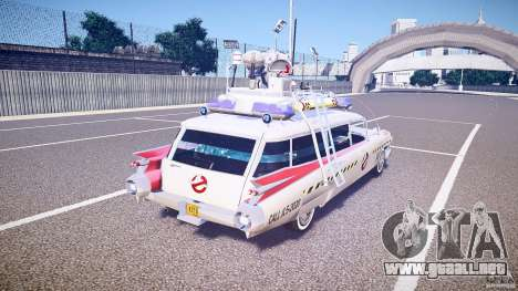 Ecto-1 (Cazafantasmas) Final para GTA 4 vista superior