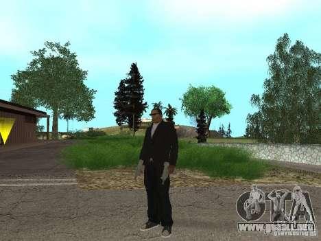 CJ Mafia Skin para GTA San Andreas tercera pantalla