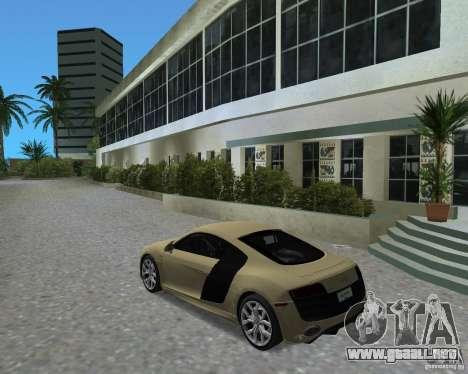 Audi R8 5.2 Fsi para GTA Vice City left