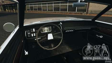 Dodge Dart 1969 [Final] para GTA 4 vista hacia atrás