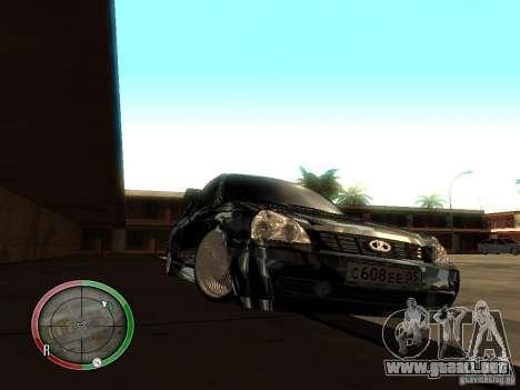 Lada Priora Dag Style para GTA San Andreas left