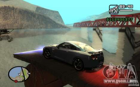 ENBSeries By Gasilovo para GTA San Andreas sexta pantalla