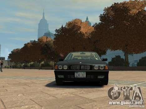 BMW 750i (E38) 1998 para GTA 4 left