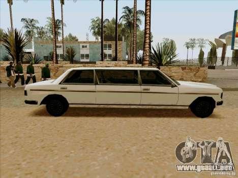 Admiral Limo para GTA San Andreas left