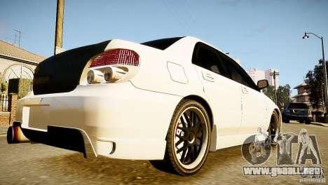 Subaru Impreza 2005 para GTA 4 left